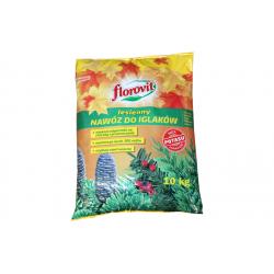 FLOROVIT Nawóz Jesienny do roślin iglastych granulowany 10 kg
