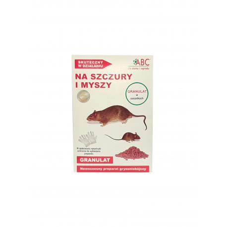 ABC Trutka na szczury i myszy granulat w saszetkach 250g (5szt x 50 g)