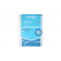 AGRIMPEX Agrowłóknina biała 1,6m X 5m zimowa