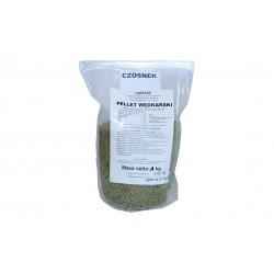 Pellet Wędkarski Zanętowy - Czosnek średnica 4 mm - 1kg