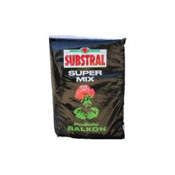 SUBSTRAL Super Mix Podłoże Balkon 40 L NOWOŚĆ !