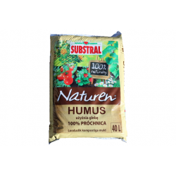 SUBSTRAL Terra HUMUS 100% próchnicy 40 L