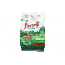 FLOROVIT Nawóz do trawników z mchem -mikrogranulat 1 kg