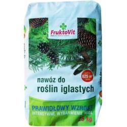 FruktoVit Nawóz do roślin iglastych granulowany 25 kg