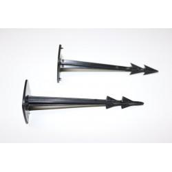 PROSPERPLAST Kołki mocujące do podłoża 120 mm / 20 szt