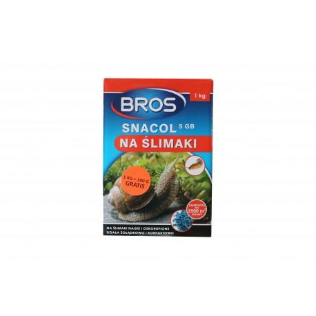 BROS Snacol Granulat na ślimaki 1kg + 100g GRATIS