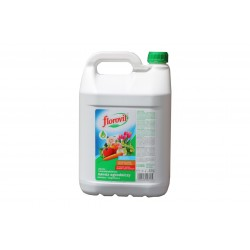 FLOROVIT Nawóz płynny ogrodniczy, wieloskładnikowy dolistny i doglebowy 5L