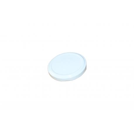 Zakrętka, pokrywka do słoików FI 82 biała z klikiem