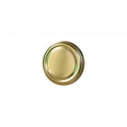 Zakrętka, pokrywka do słoików FI 66 złota