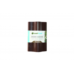 CELLFAST Obrzeże trawnikowe 20cm X 9 m brązowe